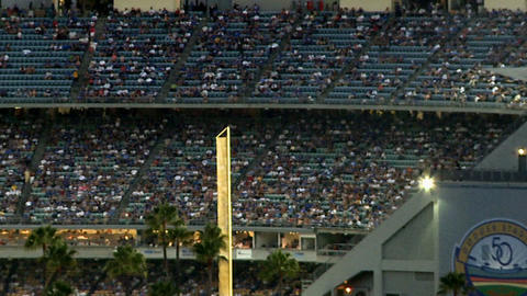 Los angeles dodger stadium Footage