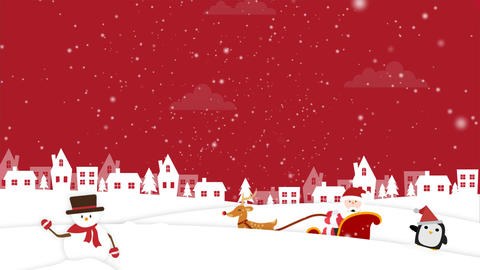 Christmas Background 2 Animation