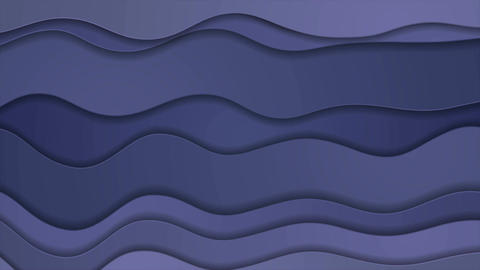 Blue and purple abstract corporate wavy video animation Animation