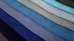 Collection of textile samples Footage