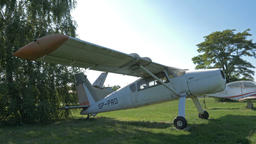 PZL-105L Flaming, Polish multipurpose aircraft Footage