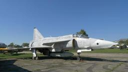 SAAB AJSF 37 Viggen Swedish reconnaissance aircraft Footage