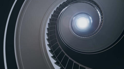 Spiral stair to the light Animation