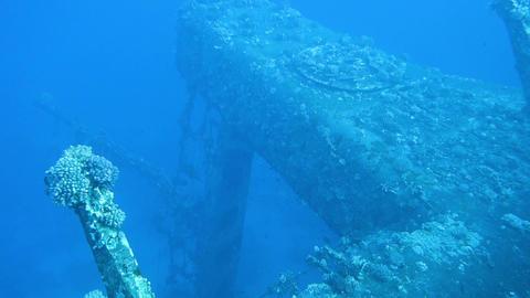 Ship wreck Salem Express Filmmaterial