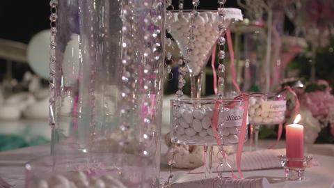 Beautiful, best Wedding Candy Bar Footage