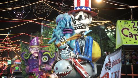 Uruguayan Carnival Dolls Live Action
