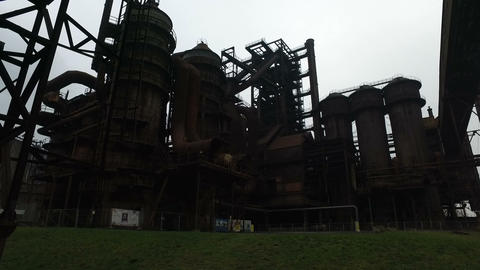 Abandoned Steel Factory Live Action