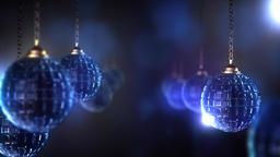 Christmas crystal ball CG動画素材