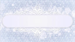 Snowflake white background Animation