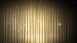 Golden curtain background CG動画素材