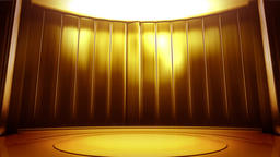Golden stage background CG動画素材
