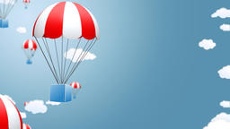 Parachute - sky Animation