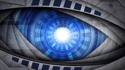 Eye dynamic video CG動画素材