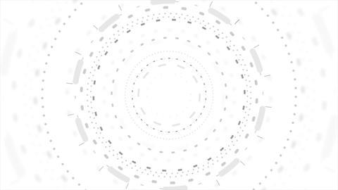 Grey futuristic technology HUD motion design Animation