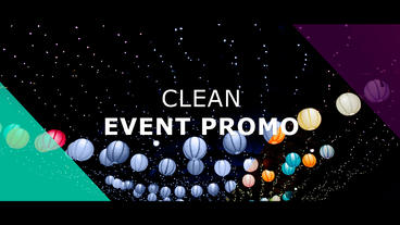 Clean Event Promo After Effects Template
