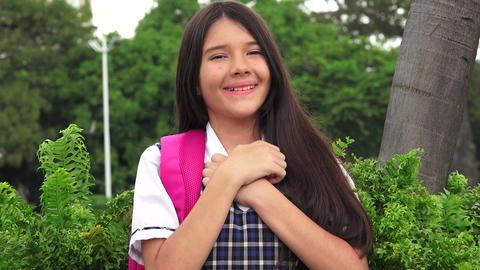 Hopeful Catholic Girl Student Live Action