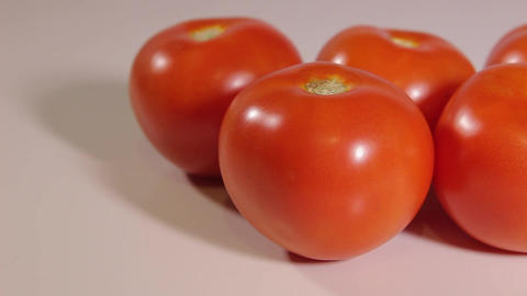 few ripe tomatoes Footage
