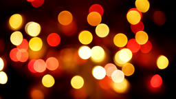 Out of focus multicolored blurred lights background. Loopable abstract motion Footage