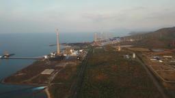 Power station. Jawa, Grati CCGT Power Plant Indonesia Footage