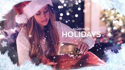 Christmas Slideshow Premiere Proテンプレート