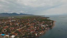 City Gilimanuk. Bali,Indonesia Footage