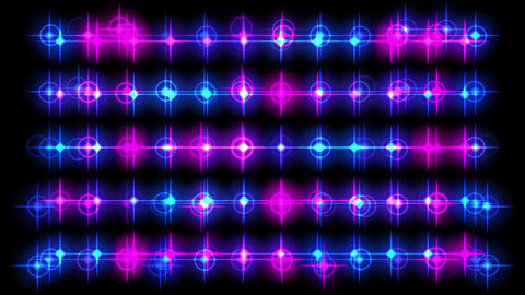 Neon background material Animation