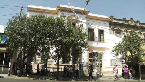 Argentine High School Facade 画像