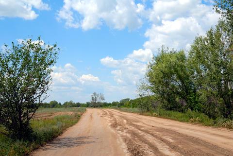 Rural road フォト