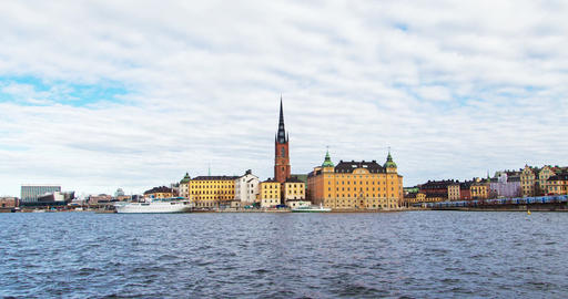 Stockholm old city hyperlapse, Sweden Footage