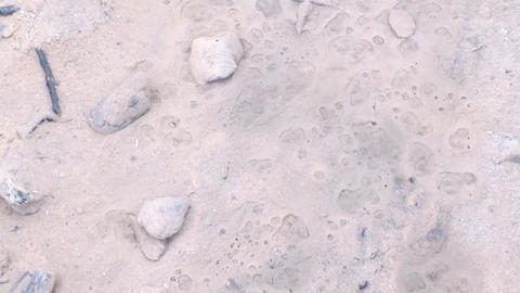 Fluidized Sand Boiling stock footage