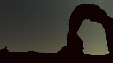 Moab passing night Animation