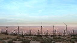 Windmills in Palm Springs Footage