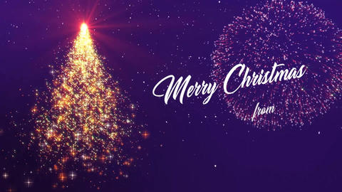 Xmas - New year Wishes After Effects Template