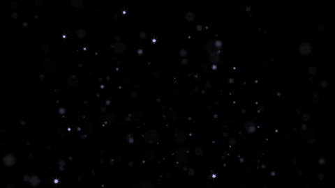 Blue Stars. Glitter Loop background Animation