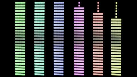Pastel volume levels Live Action