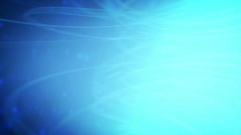Swirling blue particles Live Action