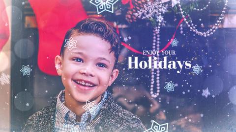 Christmas Slideshow Premiere Pro Template