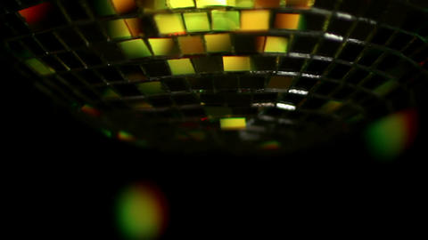 Spinning disco groove Filmmaterial