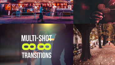 88 Multi-Shot Transitions Premiere Pro Template