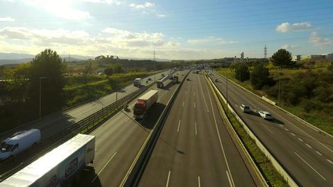 Big Wide Motorway Multilane Traffic 画像