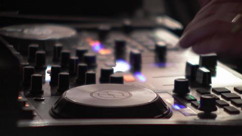 Dj mixes at the mixer at a music contest - 76 Live Action