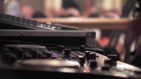 Dj mixes at the mixer at a music contest - 84 Live Action