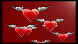 Hearts CG動画素材