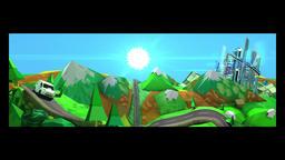 Road Trip CG動画素材