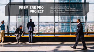 Lines Up - Premiere Presentation Premiere Pro Template