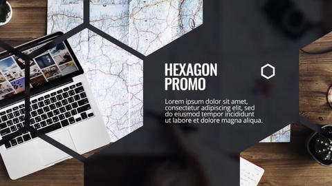 Hexagon - Future Promo After Effects Template