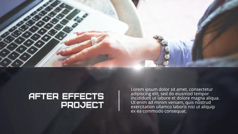 Elegant Presentation After Effects Template