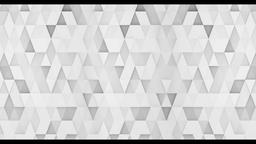 The background of the Triangles animation CG動画素材