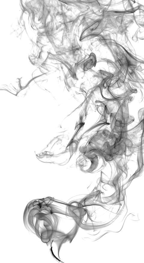 Abstract dark smoke Foto