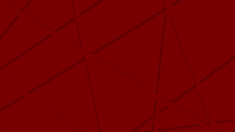 Abstract red stripes corporate polygonal video animation Animation